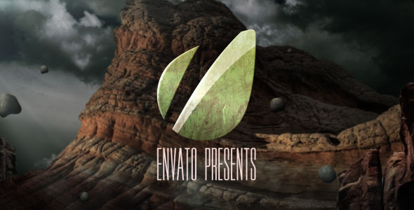 After Effects Project - VideoHive Flying Stones Logo 3359829