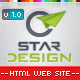 CStar Design Web Site - ThemeForest Item for Sale