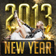 2013 New Year Flyer Template - GraphicRiver Item for Sale