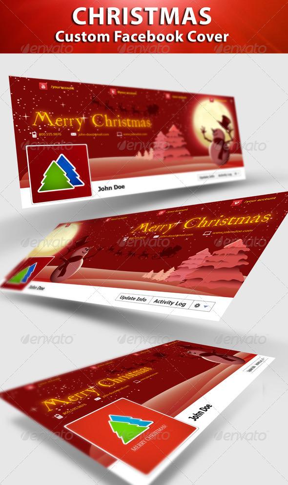 GraphicRiver Christmas FB Timeline 3336565