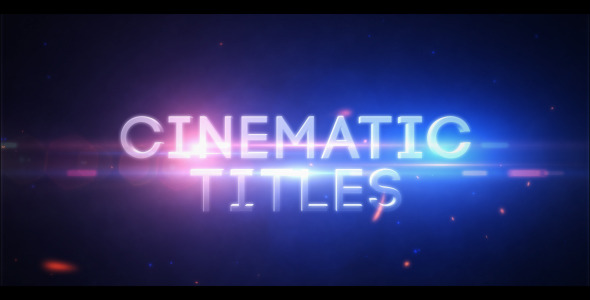 VideoHive Cinematic Titles 3398785