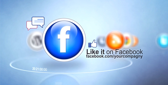 VideoHive Social Network Icons 3399096