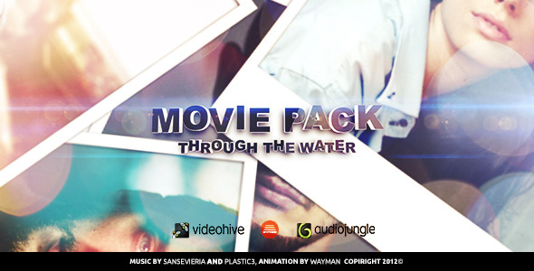 VideoHive Movie Pack Through The Water 3399728