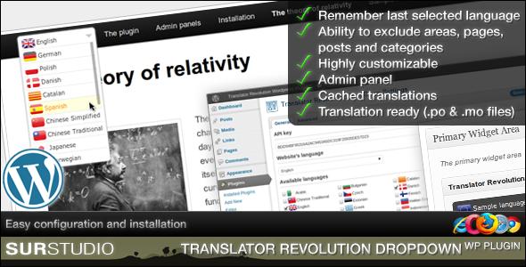 Ajax Translator Revolution Lite jQuery Plugin - PHP Scripts | PHP
