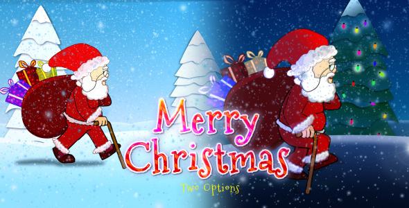 VideoHive Merry Christmas & Christmas Santa Claus 3403304