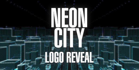 VideoHive Neon City Logo Reveal 3407858