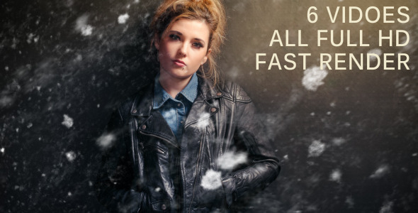 VideoHive Grunge Sctrach Overlays 6 pack 3409225
