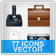 General 77 Icons -  Vector - GraphicRiver Item for Sale