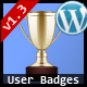 User Badges : WP User Achievements Plugin - CodeCanyon Item for Sale
