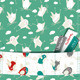 Funny Birds Flying Seamless Pattern - GraphicRiver Item for Sale