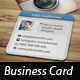 Mini Social Photo Card - GraphicRiver Item for Sale