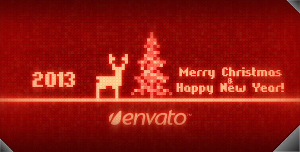 VideoHive 8-bit Christmas 3415729