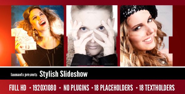 VideoHive Stylish Slideshow 3417825