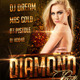 Diamond Nightclub Flyer Template - GraphicRiver Item for Sale