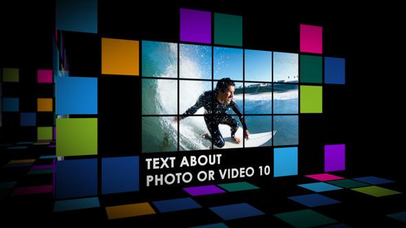 VideoHive Squares Slide Show 3422741