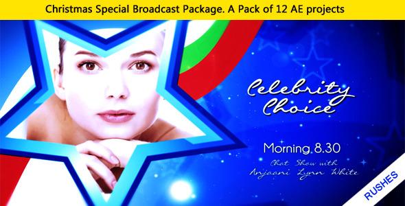 VideoHive Christmas Special Broadcast package 3406983