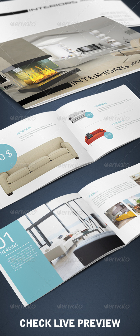 GraphicRiver A5 Booklet Catalogue 1191557