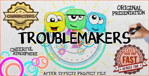 VideoHive Troublemakers 3424194