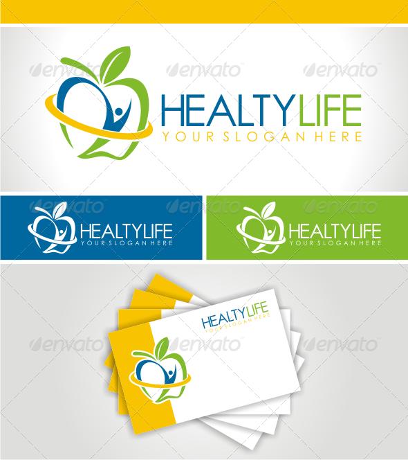 GraphicRiver HEALTHY LIFE LOGO 3427136