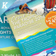 Holiday Travel Flyer Vol.02 - GraphicRiver Item for Sale