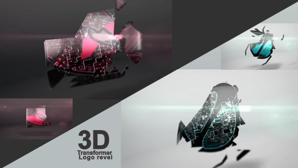 VideoHive 3D Transformer Logo 3429653
