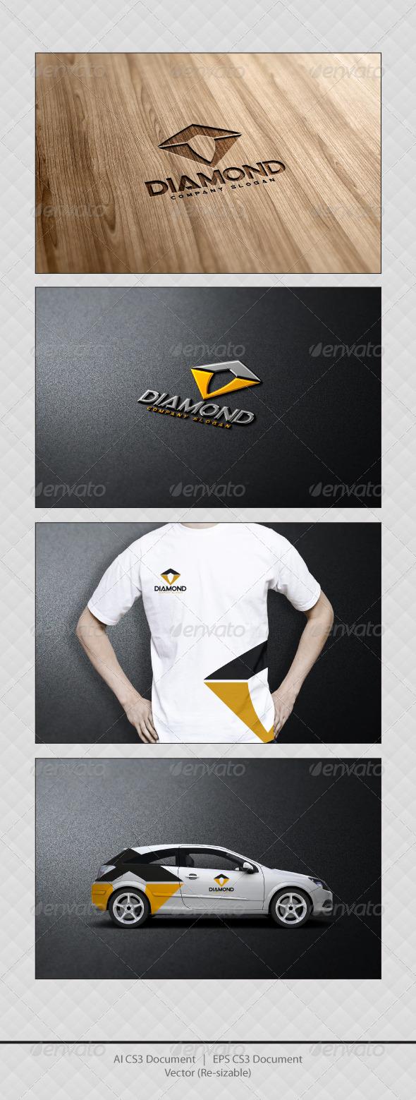 GraphicRiver Diamond Logo Templates 3430492