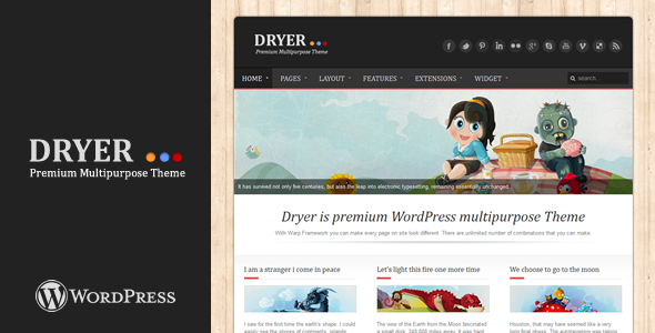 ThemeForest Dryer Multipurpose WordPress Theme 1945888