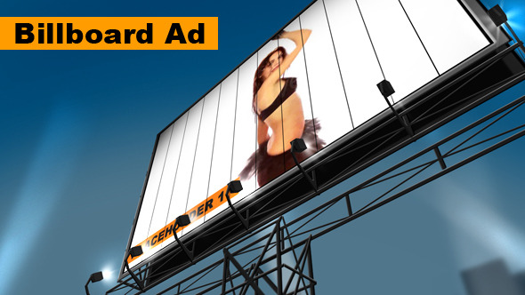 VideoHive Billboard Advertising 3443687