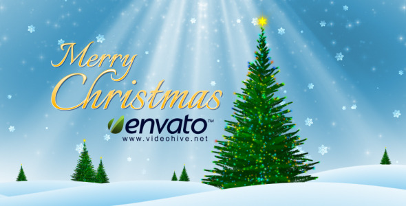 VideoHive Merry Christmas 3445119