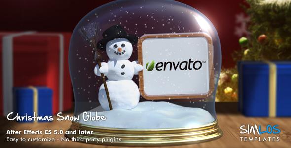 VideoHive Christmas Snow Globe 3448309