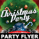 Christmas Party Flyer Celebration Template - GraphicRiver Item for Sale