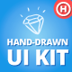Hand-Drawn UI Kit - GraphicRiver Item for Sale