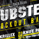 Music Knockout Bass Flyer and Poster Template - GraphicRiver Item for Sale