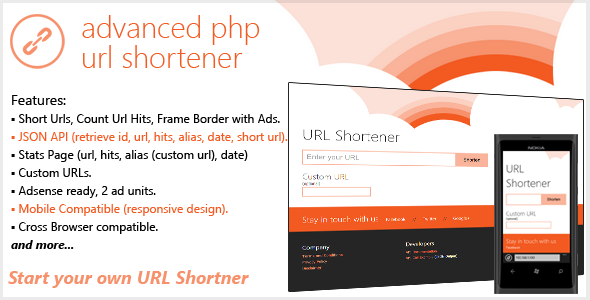 CodeCanyon- Metro Shrink(Advanced PHP URL Shortener)