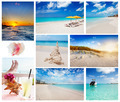 Collage of Turks and Caicos scenes - PhotoDune Item for Sale