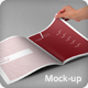 Photorealistic A4 Brochure Mock-up - GraphicRiver Item for Sale