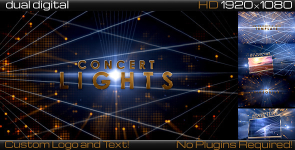 VideoHive Concert Lights 3D Corporate Promo 3466054