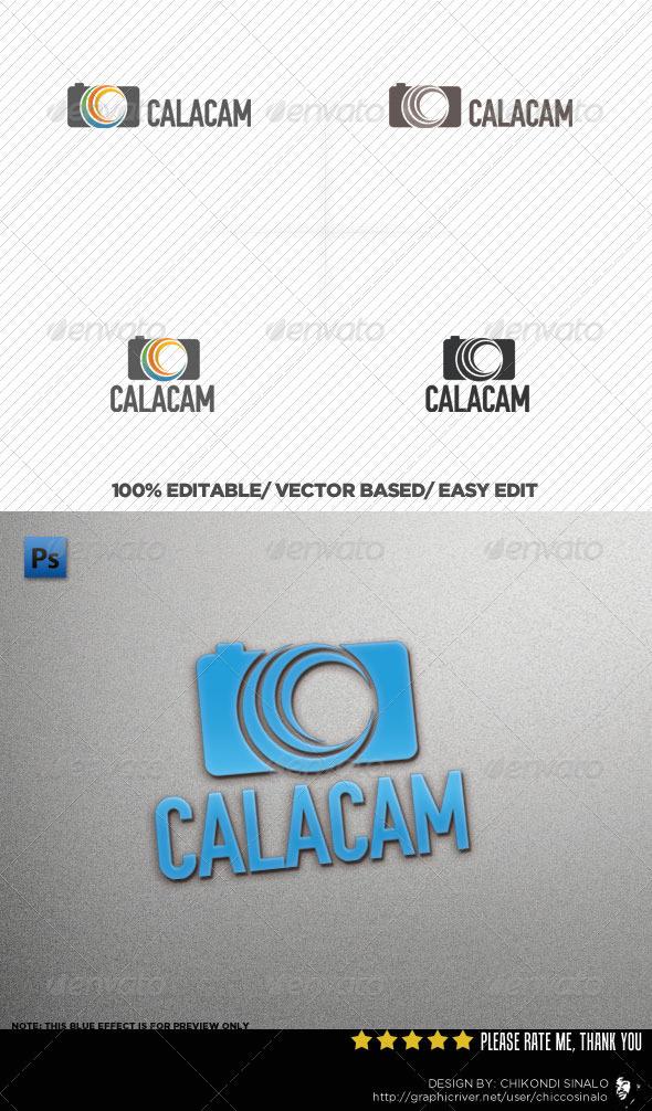 GraphicRiver CalaCam Logo Template 3247128
