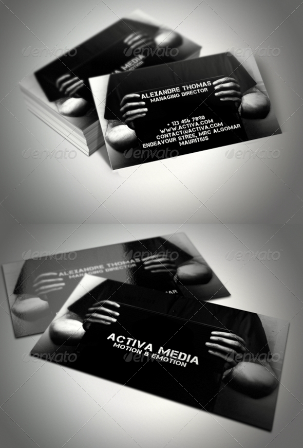 GraphicRiver Arrested Business Card 372369