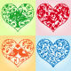 Set of Beautiful Floral Hearts - GraphicRiver Item for Sale