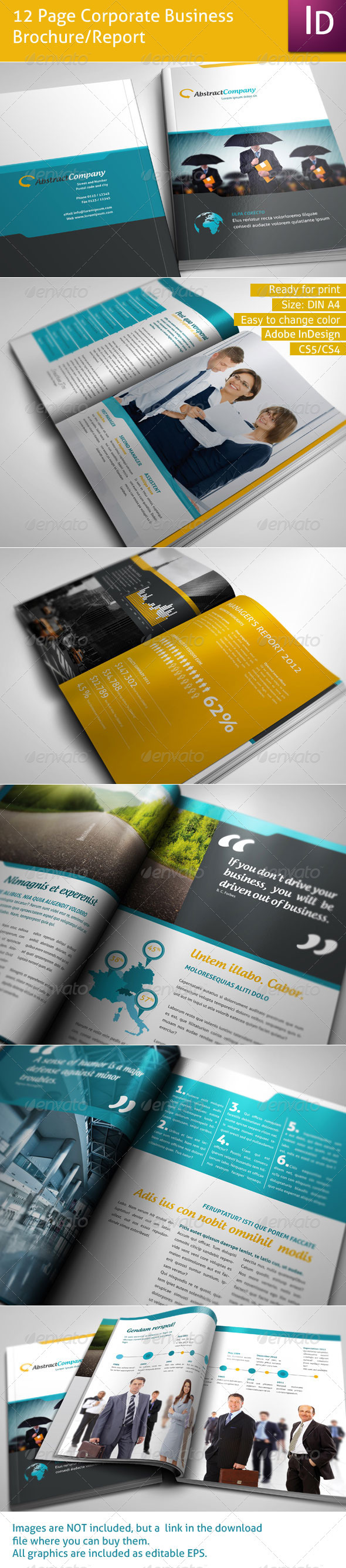 GraphicRiver 12 Page Business Brochure 1692326