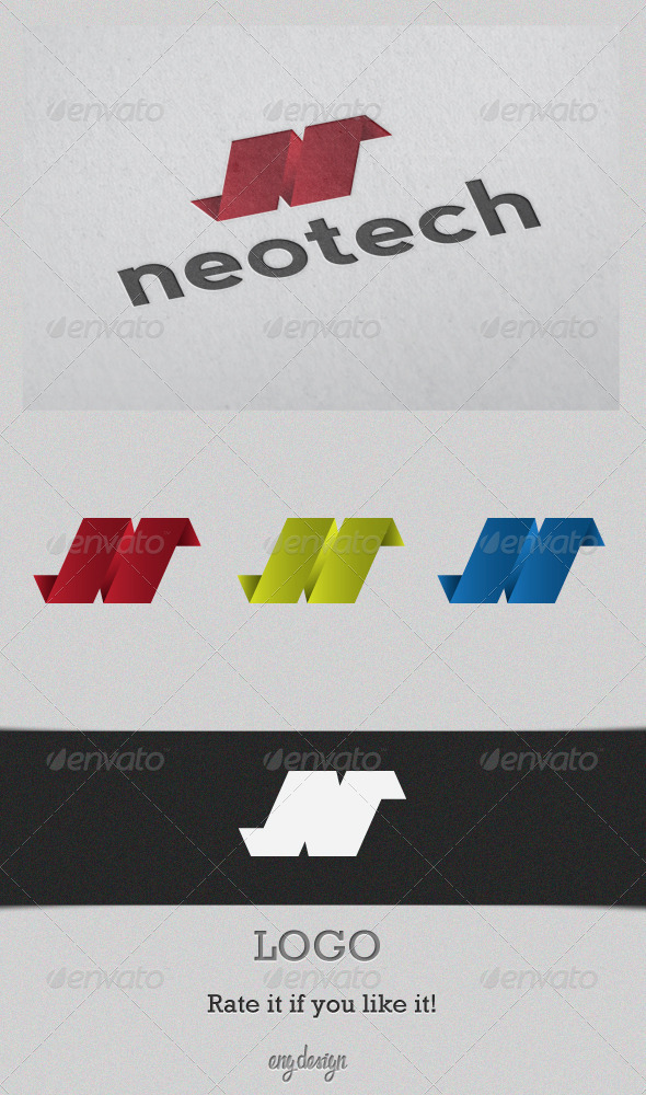 Graphic River Neotech Logo Templates -  Letters 913172