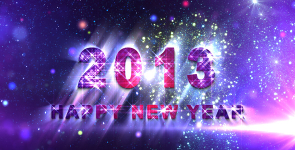 VideoHive 2013 New Year Countdown 3503578