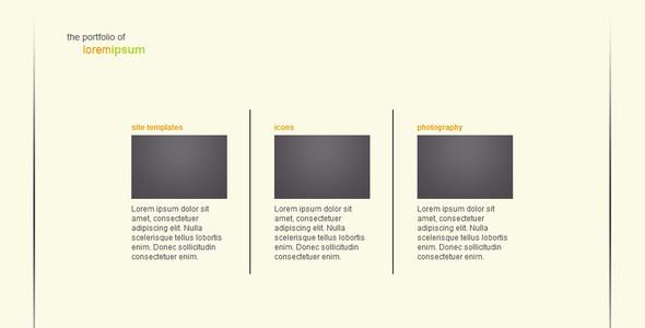 ThemeForest Simple Transitions Portfolio - Rip 16307 Src