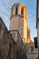 Tower of Santa Eulalia Cathedral in Barcelona - PhotoDune Item for Sale