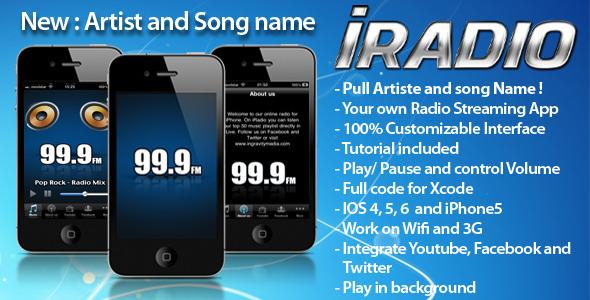 CodeCanyon iRadio iPhone App 236502