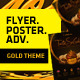 Multipurpose Gold Print Template - GraphicRiver Item for Sale