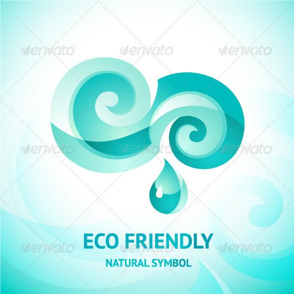 Mayan Water Symbol » Tinkytyler.org - Stock Photos & Graphics
