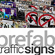 430 Prefab Traffic Signs - ActiveDen Item for Sale