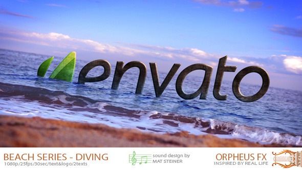 VideoHive Beach Series Logo Diving 3519816